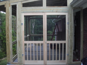 Security screen doors double screen doors for Double door screen door